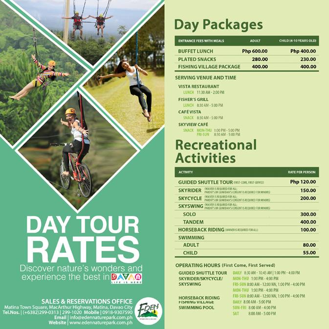 Eden Nature Park Address Davao